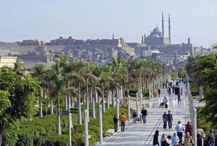 Al-Azhar Park – Taman Kota Deket Universitas Al Azar