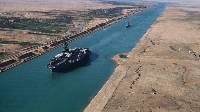 Jembatan Terusan Suez Laut Merah