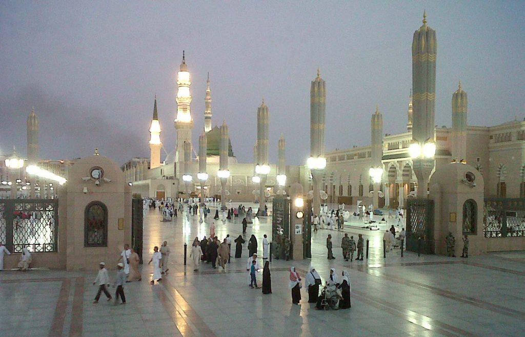 Masjid Nabawi Madinah Al Munawaroh