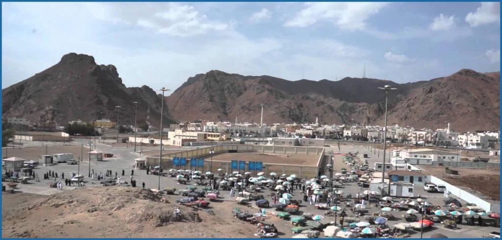 Ziarah Ke Jabal-Uhud-di-Madinah-Arab-Saudi